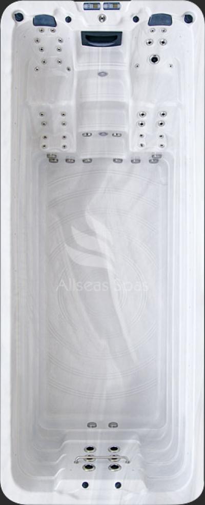 Плавательный СПА бассейн Allseas Spas ASW 5500 Superior 550х225х152 см