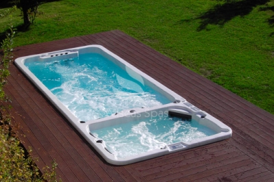 Плавательный СПА бассейн Allseas Spas ASW 6000 Superior 590х225х152 см