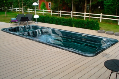 Плавательный СПА бассейн Allseas Spas Ocean Dream 58, 580х225х127 см