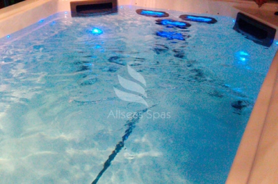 Плавательный СПА бассейн Allseas Spas River Stream 59, 590х225х157 см
