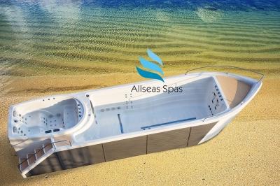 Плавательный СПА бассейн Allseas Spas Zeus 900х225х166 см