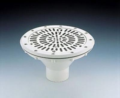 Заборник воды под пленку Astral с накладкой из нерж. стали (08316)