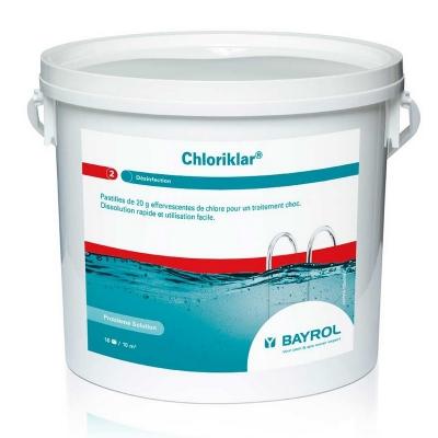 Bayrol Хлориклар (ChloriKlar) быстрорастворимые таблетки, 25 кг