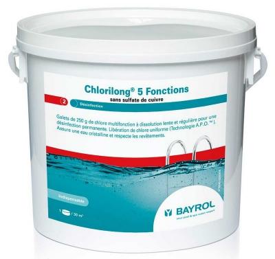Bayrol Хлорилонг (ChloriLong) 200, медленнорастворимые таблетки, 25 кг