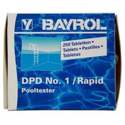 Таблетки для тестера DPD №1/Rapid (Pooltester) (10 таблеток)