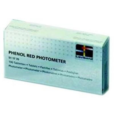 Таблетки для фотометра Bayrol PHENOLRED (рН), 10 шт.