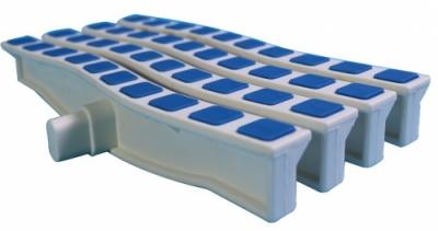 Решётка переливная Emaux Anti Slip 200 синий