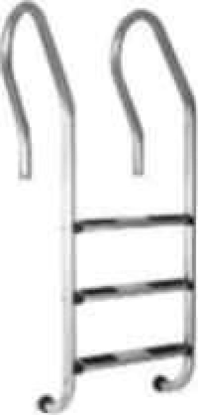 Лестница Fiberpool MIXTA AISI 304 3 ступени