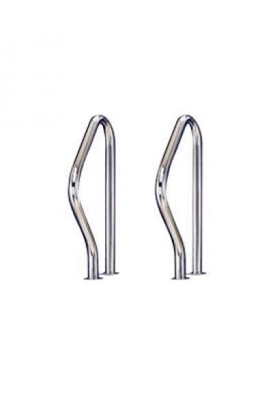 Поручень для лестниц из двух элементов Flexinox AISI-304 (87100319)