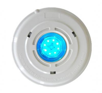 Прожектор светодиодный универсальный из ABS-пластика Pool King 1,5 Вт, с закладной, кабель 2,5 м (RGB)