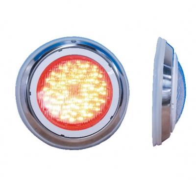 Прожектор светодиодный под плитку из нерж. стали Pool King 18 Вт (RGB)