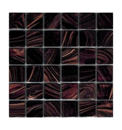 Стеклянная мозаичная смесь Rose Black Star R+