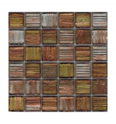 Стеклянная мозаичная смесь Rose Brown-Haired R+
