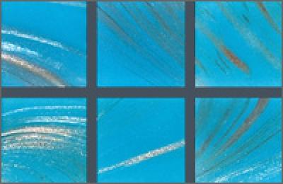 Мозаика стеклянная однотонная Rose Gold Star 10х10 мм G12