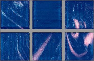 Мозаика стеклянная однотонная Rose Gold Star 20х20 мм G17(5)