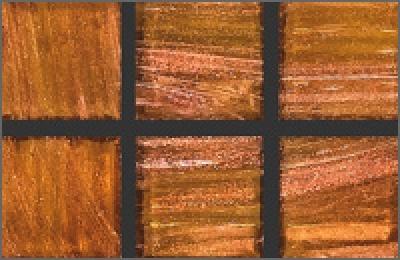 Мозаика стеклянная однотонная Rose Gold Star 10х10 мм G34