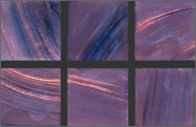 Мозаика стеклянная однотонная Rose Gold Star 10х10 мм G40