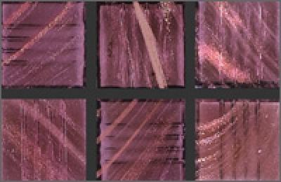 Мозаика стеклянная однотонная Rose Gold Star 10х10 мм G41