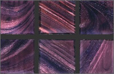 Мозаика стеклянная однотонная Rose Gold Star 20х20 мм G42(5)