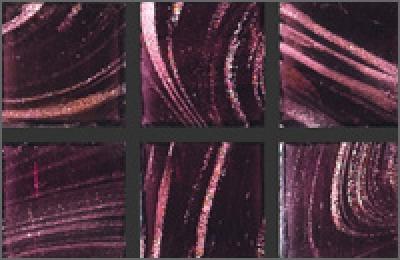 Мозаика стеклянная однотонная Rose Gold Star 20х20 мм G45(5)