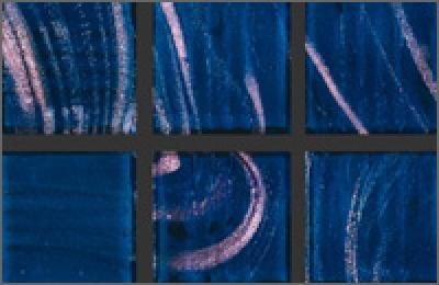 Мозаика стеклянная однотонная Rose Gold Star 20х20 мм G68(5)