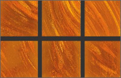 Мозаика стеклянная однотонная Rose Gold Star 20х20 мм GB92(5)