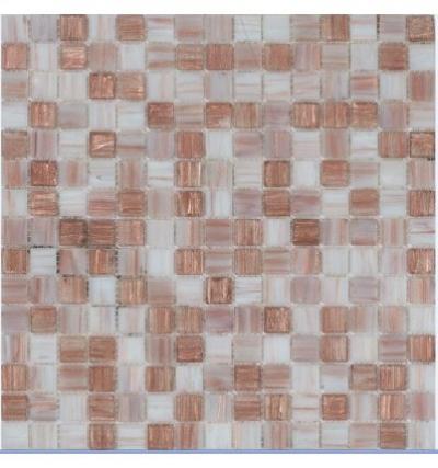Стеклянная мозаичная смесь Rose Samoa R+