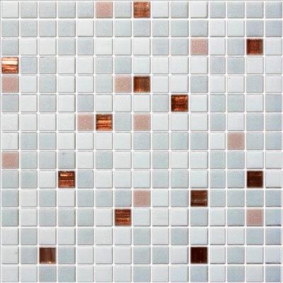 Стеклянная мозаичная смесь Rose White Rose R+