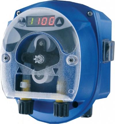 Дозирующий насос перистальтический Seko Dynamik Pro производительность от 2,5 мл/ч до 25 мл/ч