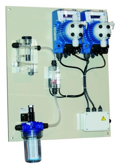 Автоматическая станция Seko Kontrol TMP pH/Rx/CL/CLO2/H2O2, 4-8 л/ч, без датчика хлора