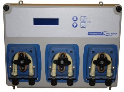 Автоматическая станция Seko Pool Basic pH/Rx/Floc, 1.5 л/ч