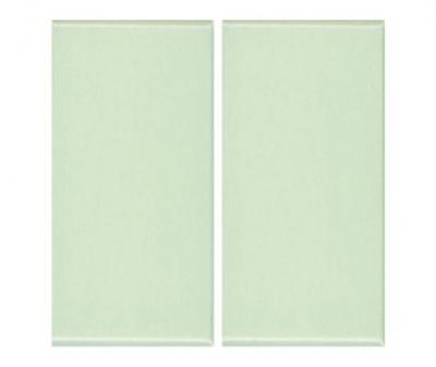 Плитка фарфоровая Serapool глазурованная 12,5x25 см желто-зеленая