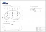 Бассейн Admiral Pools овальный Атланта размер 6,50х3,50 м