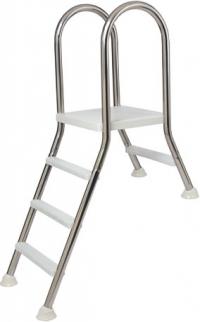 Лестница для сборного бассейна Flexinox AISI-304 X+Y 3+1 ступени