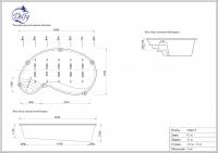 Бассейн Delfy овальный Монге 6 размер 6,50х3,60 м