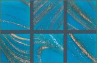Мозаика стеклянная однотонная Rose Gold Star 10х10 мм G14