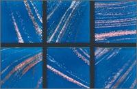Мозаика стеклянная однотонная Rose Gold Star 10х10 мм G15