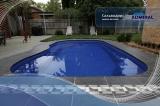 Бассейн Admiral Pools прямоугольный Сальвадор размер 9,30х4,25 м