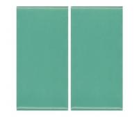 Плитка фарфоровая Serapool глазурованная 12,5x25 см зеленая
