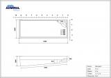 Бассейн Admiral Pools прямоугольный Виктория 9 размер 9,40х3,60 м