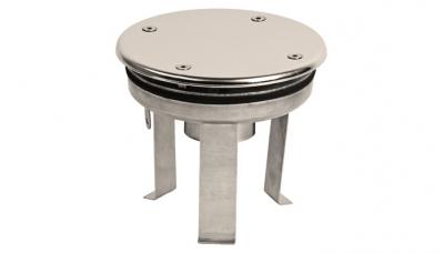 Заборник воды под плитку Xenozone с антивихревой крышкой (165 мм) (ВЗ.620.1)