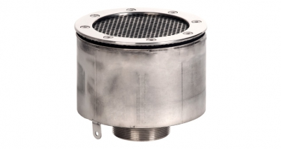 Заборник воды под пленку Xenozone с сетчатой крышкой (165 мм) (ВЗ.625.4)